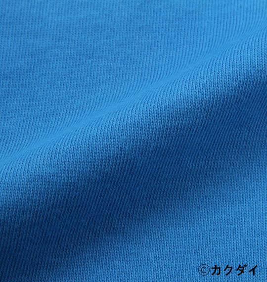 大きいサイズ メンズ 企業コラボ Tシャツ クッピーラムネ 半袖 Tシャツ ターコイズ 1178-9221-1 3L 4L 5L 6L 8L