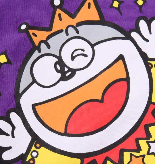 大きいサイズ メンズ 企業コラボ Tシャツ うまい棒 半袖 Tシャツ パープル 1178-9226-1 3L 4L 5L 6L 8L