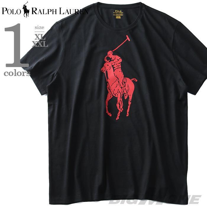 大きいサイズ メンズ POLO RALPH LAUREN ポロ ラルフローレン ビッグポニー 半袖 Tシャツ USA直輸入 710708074010
