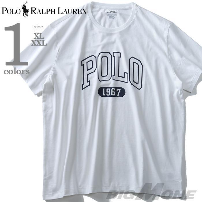 大きいサイズ メンズ POLO RALPH LAUREN ポロ ラルフローレン プリント 半袖 Tシャツ USA直輸入 710741449002