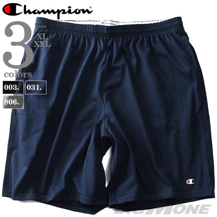 大きいサイズ メンズ Champion チャンピオン ショートパンツ ハーフパンツ USA直輸入 85653