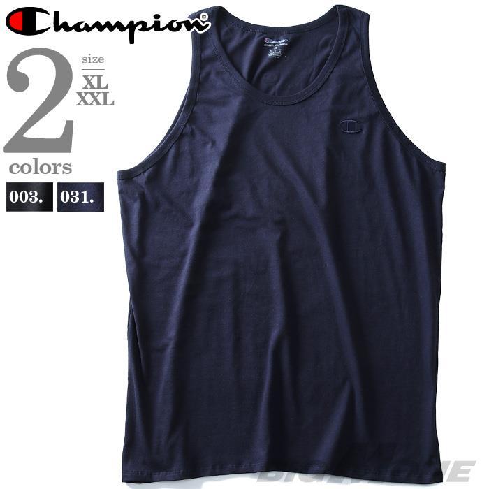 大きいサイズ メンズ Champion チャンピオン タンクトップ USA直輸入 t0224