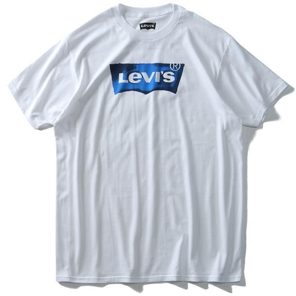 大きいサイズ メンズ LEVI'S リーバイス 半袖 プリント Tシャツ USA直輸入 3lsp3369