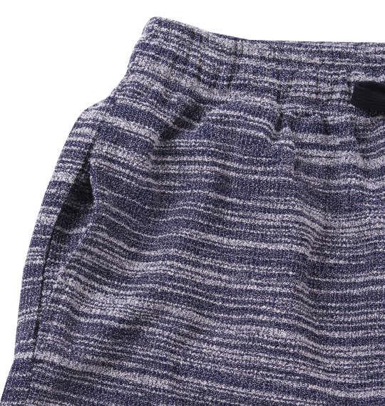 大きいサイズ メンズ COLLINS スラブ杢 半袖 パーカー セット ブルー 1158-9231-1 3L 4L 5L 6L 8L