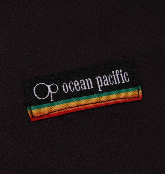 大きいサイズ メンズ OCEAN PACIFIC 半袖 フルジップ パーカー ラッシュガード ブラック 1168-9220-2 3L 4L 5L 6L 8L