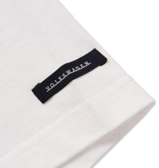 大きいサイズ メンズ VOLKSWAGEN 半袖 Tシャツ ホワイト 1168-9235-1 3L 4L 5L 6L 8L