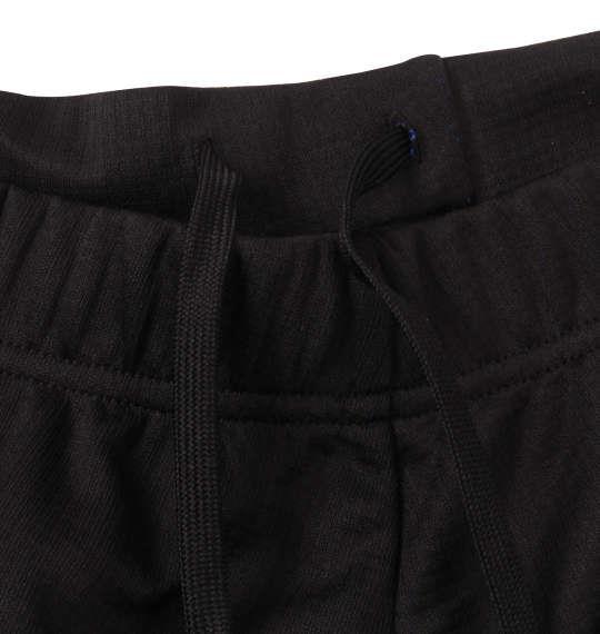 大きいサイズ メンズ DESCENTE スクエアメッシュ ハーフパンツ ブラック × ブルー 1174-9230-2 3L 4L 5L 6L