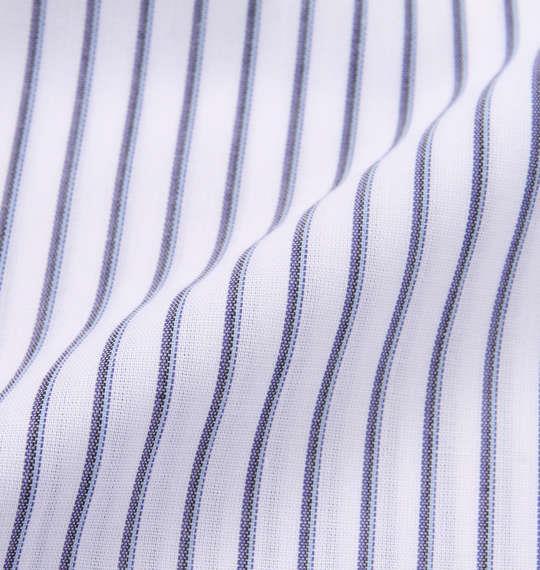 大きいサイズ メンズ HIROKO KOSHINO HOMME マイターB.D 半袖 シャツ ホワイト × ネイビー 1177-9233-1 3L 4L 5L 6L 7L 8L