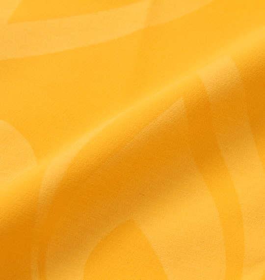 大きいサイズ メンズ LOUDMOUTH ストレッチ 二重織 エンボス ハーフパンツ イエロー 1174-9260-2 100 105 110 115 120 130