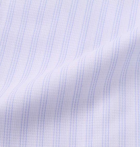 大きいサイズ メンズ HIROKO KOSHINO HOMME B.D 半袖 シャツ ホワイト×サックス 1177-9236-1 3L 4L 5L 6L 7L 8L 9L