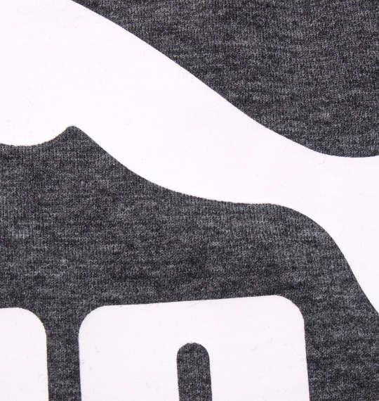 大きいサイズ メンズ PUMA エッセンシャルヘザー 半袖 Tシャツ プーマブラックヘザー 1178-9210-2 2XL 3XL 4XL 5XL 6XL
