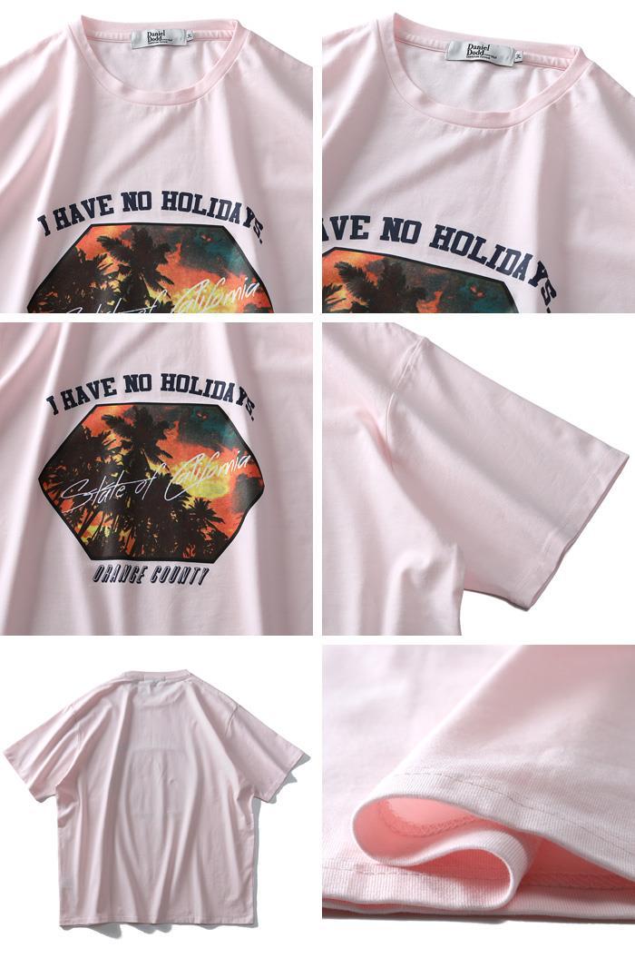 大きいサイズ メンズ DANIEL DODD フォト プリント 半袖 Tシャツ azt-1902141
