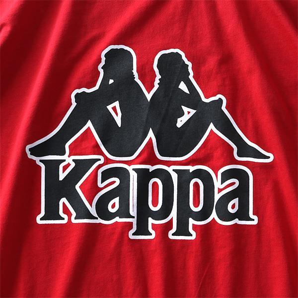 大きいサイズ メンズ Kappa カッパ デカロゴ プリント 半袖 Tシャツ 春夏新作 kpt-954z