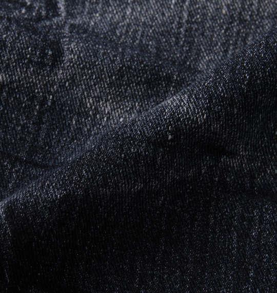 大きいサイズ メンズ RIMASTER ストレッチ デニム クロップド パンツ ネイビー 1154-9275-1 100 110 120 130 140 150