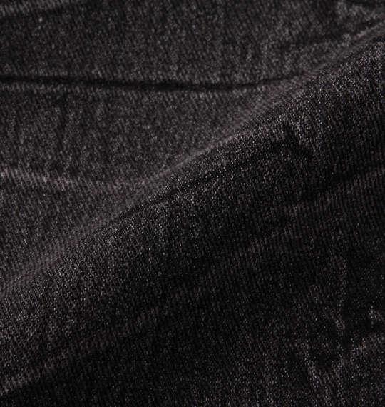 大きいサイズ メンズ RIMASTER ストレッチ デニム クロップド パンツ ブラック 1154-9275-2 100 110 120 130 140 150