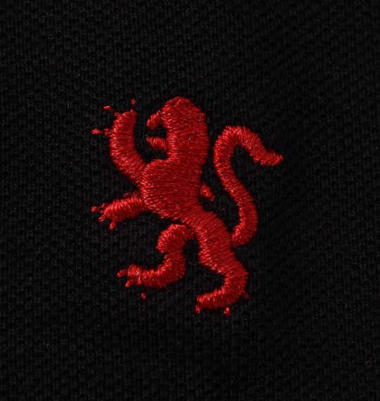 大きいサイズ メンズ Timely Warning 鹿の子 2枚衿 半袖 ポロシャツ ブラック 1158-9521-2 3L 4L 5L 6L