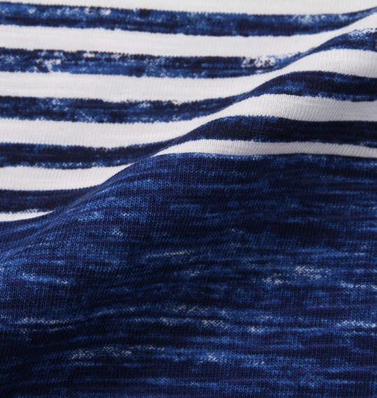 大きいサイズ メンズ Timely Warning ナノテック加工 スラブ 3段切替 半袖 Tシャツ ダークグリーン 1158-9523-2 3L 4L 5L 6L