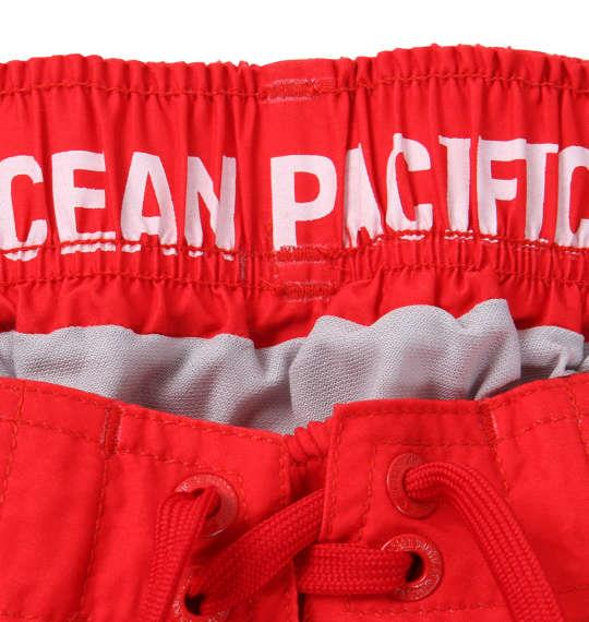 大きいサイズ メンズ OCEAN PACIFIC サーフパンツ レッド 1164-9201-1 3L 4L 5L 6L