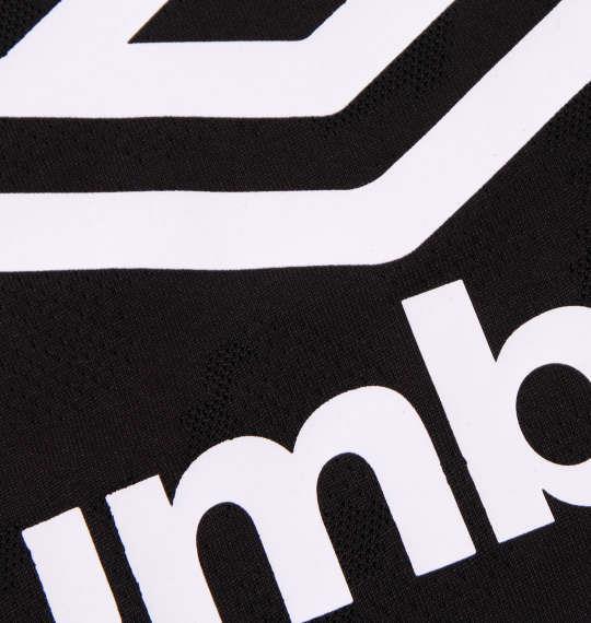 大きいサイズ メンズ UMBRO アイスブラスト 半袖 Tシャツ ブラック 1178-9231-2 2L 3L 4L 5L 6L