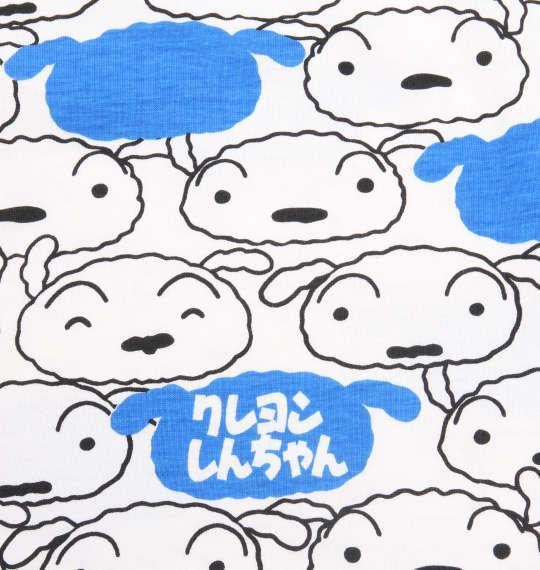 大きいサイズ メンズ クレヨンしんちゃん 総柄 プリント 半袖 Tシャツ ホワイト系 1178-9556-1 3L 4L 5L 6L 8L
