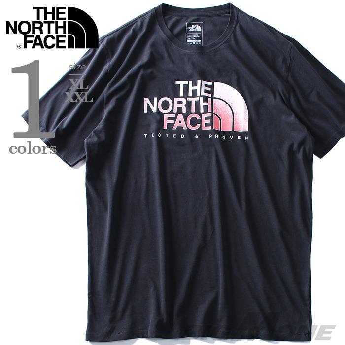 大きいサイズ メンズ THE NORTH FACE ザ ノース フェイス プリント 半袖 Tシャツ USA直輸入 nf0a3o64zly