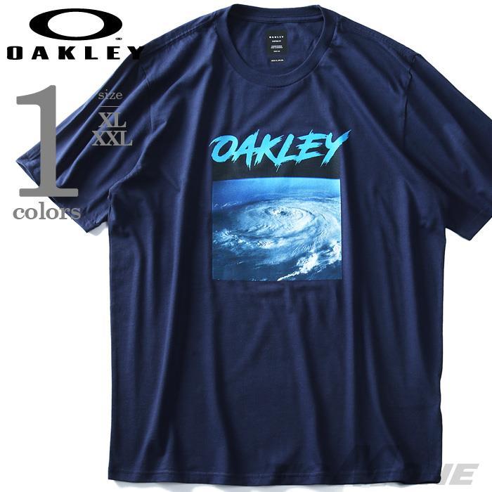 大きいサイズ メンズ OAKLEY オークリー 半袖 プリント Tシャツ USA直輸入 oky458080