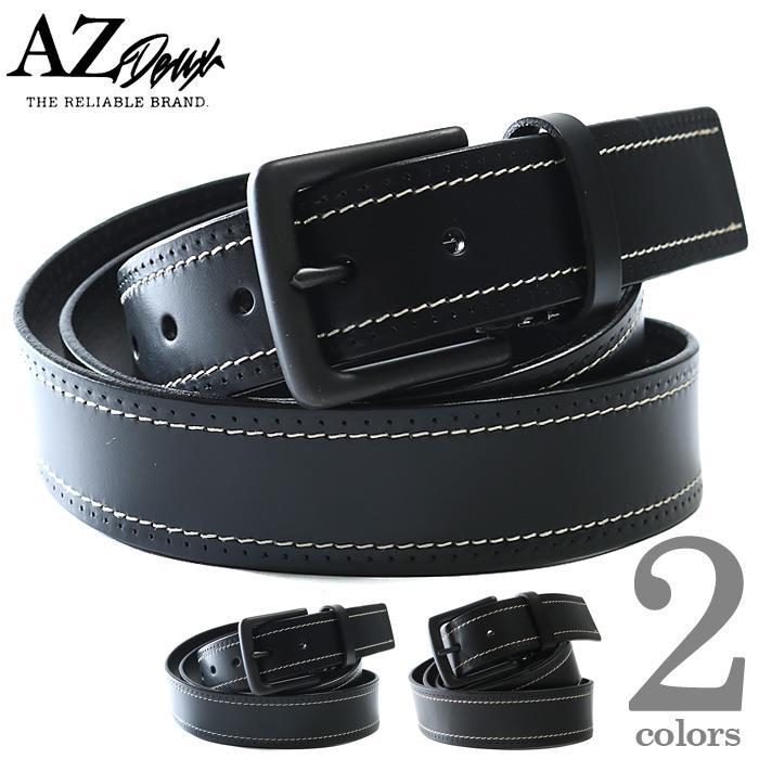 大きいサイズ メンズ AZ DEUX レザー ベルト azcl-199042
