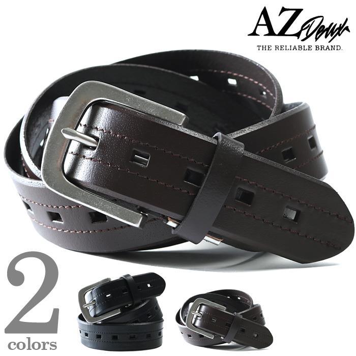 大きいサイズ メンズ AZ DEUX レザー ベルト 春夏新作 azcl-199045