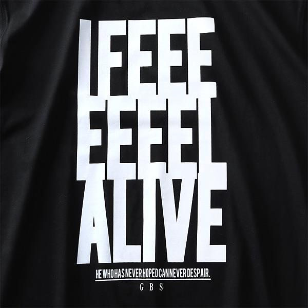大きいサイズ メンズ DANIEL DODD オーガニック プリント 半袖 Tシャツ IFEEEEEEEL ALIVE azt-190242
