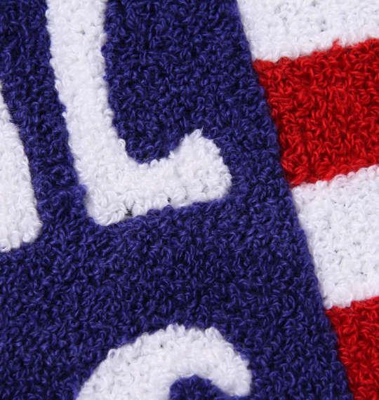 大きいサイズ メンズ SHELTY 星条旗 サガラ刺繍 半袖 Tシャツ ネイビー 1168-9274-2 3L 4L 5L 6L 8L