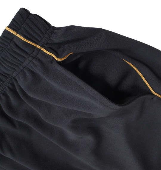 大きいサイズ メンズ LOTTO DRY メッシュ ハーフ パンツ ブラック 1174-9205-2 3L 4L 5L 6L 8L