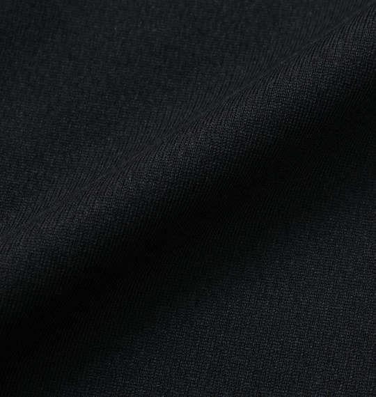 大きいサイズ メンズ LOTTO DRY メッシュ ハーフジップ 半袖 シャツ ブラック 1178-9515-2 3L 4L 5L 6L 8L
