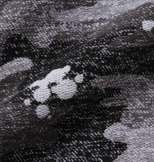 大きいサイズ メンズ OUTDOOR PRODUCTS インレイ 裏毛 カモフラ柄 ハーフパンツ ブラック 1154-9230-2 3L 4L 5L 6L 8L