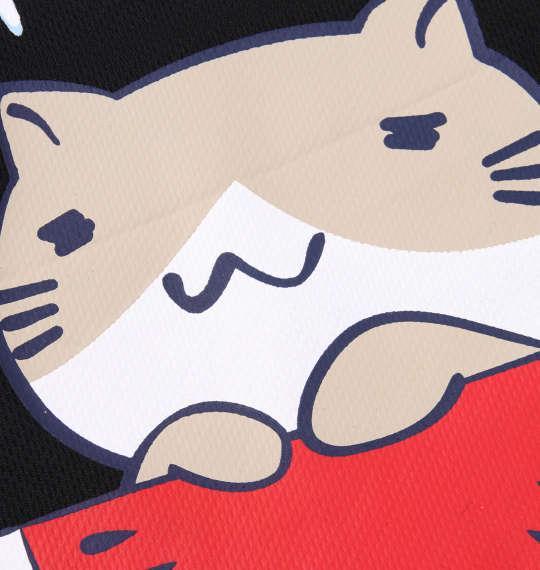 大きいサイズ メンズ NECOBUCHI-SAN DRY メッシュ 半袖 Tシャツ ブラック 1158-9263-2 3L 4L 5L 6L