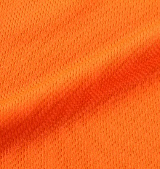 大きいサイズ メンズ NECOBUCHI-SAN DRY メッシュ 半袖 Tシャツ オレンジ 1158-9264-1 3L 4L 5L 6L