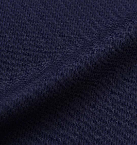 大きいサイズ メンズ NECOBUCHI-SAN DRY メッシュ 半袖 Tシャツ ネイビー 1158-9264-2 3L 4L 5L 6L