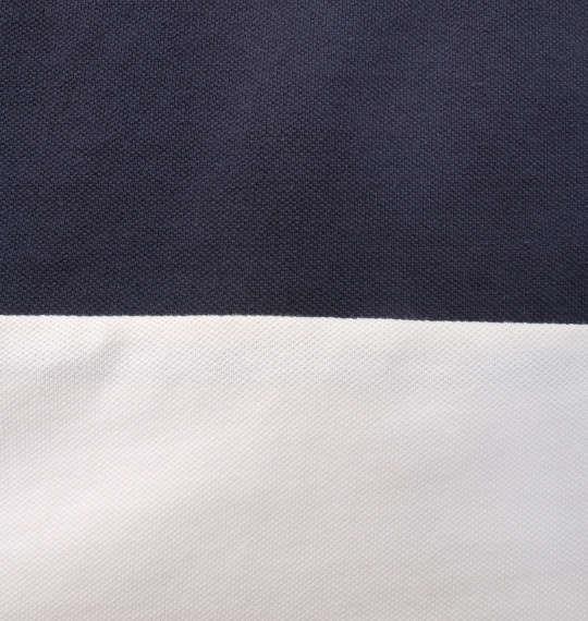 大きいサイズ メンズ Timely Warning 鹿の子 3段 切替 半袖 ポロシャツ イエロー 1158-9524-3 3L 4L 5L 6L