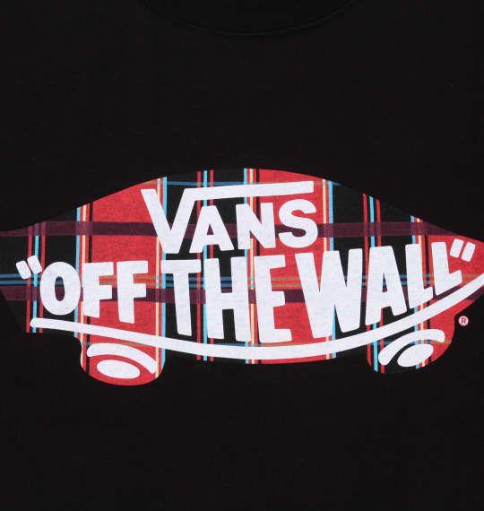 大きいサイズ メンズ VANS チェック SK8OTW 半袖 Tシャツ ブラック 1178-9592-2 3L 4L 5L 6L