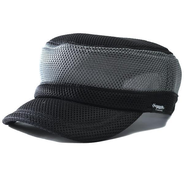 大きいサイズ メンズ AZ DEUX エアメッシュ ワーク キャップ 帽子 714-190302