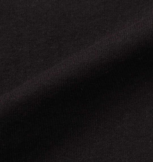 大きいサイズ メンズ SHOCK NINE ロング丈 裾チェック柄 切替 半袖 Tシャツ ブラック 1158-9256-2 3L 4L 5L 6L