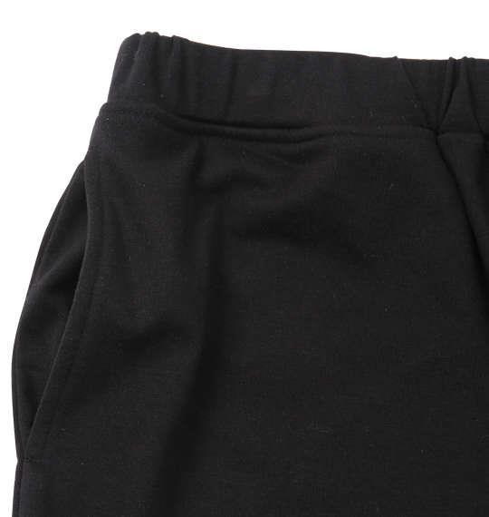 大きいサイズ メンズ SHOCK NINE 総柄 半袖 Tシャツ + ミニ 裏毛 ハーフパンツ ホワイト × ブラック 1158-9257-1 3L 4L 5L 6L