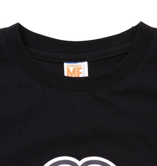 大きいサイズ メンズ MINIONS 半袖 Tシャツ ブラック 1178-9585-2 3L 4L 5L 6L
