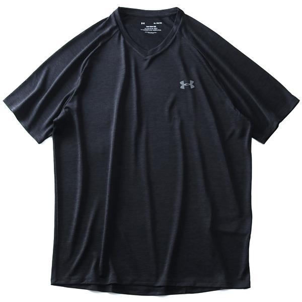 大きいサイズ メンズ UNDER ARMOUR アンダーアーマー トレーニング Vネック 半袖 Tシャツ USA直輸入 1328190