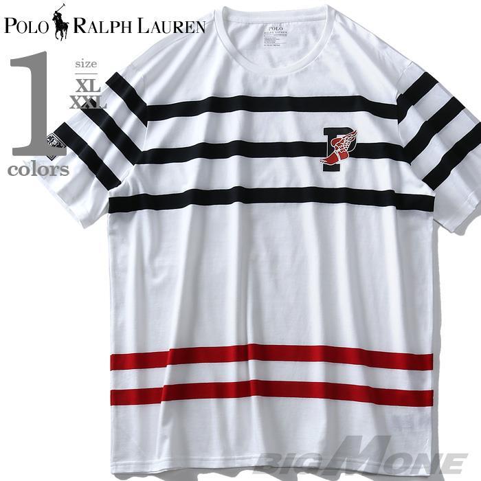 大きいサイズ メンズ POLO RALPH LAUREN ポロ ラルフローレン ボーダー柄 半袖 Tシャツ USA直輸入 710737931