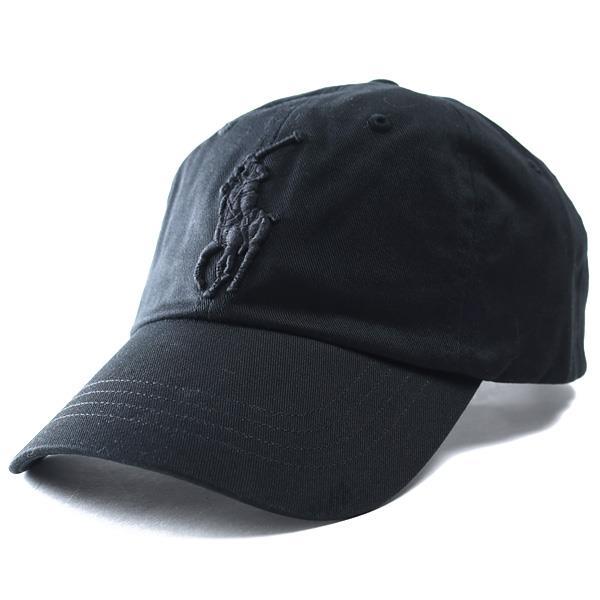 メンズ POLO RALPH LAUREN ポロ ラルフローレン ビッグポニー ロゴ キャップ 帽子 USA直輸入 710673584
