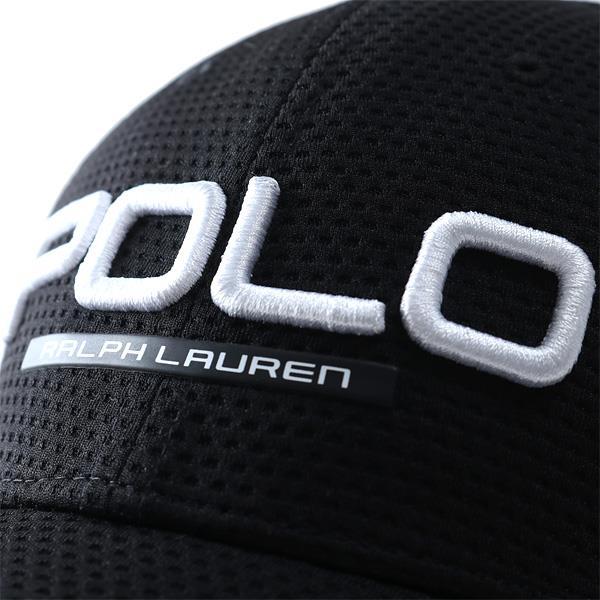 メンズ POLO RALPH LAUREN ポロ ラルフローレン ロゴ キャップ 帽子 USA直輸入 710673613