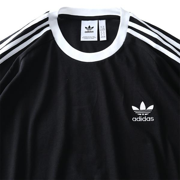 大きいサイズ メンズ ADIDAS アディダス 3ストライプ 半袖 Tシャツ USA直輸入 cw1202