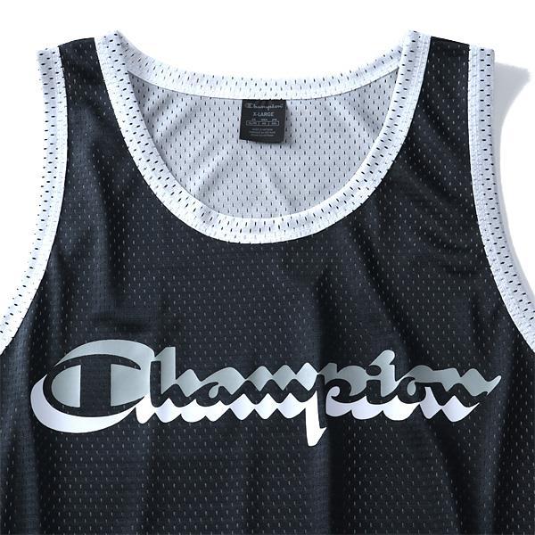 大きいサイズ メンズ Champion チャンピオン メッシュ タンクトップ USA直輸入 t8826
