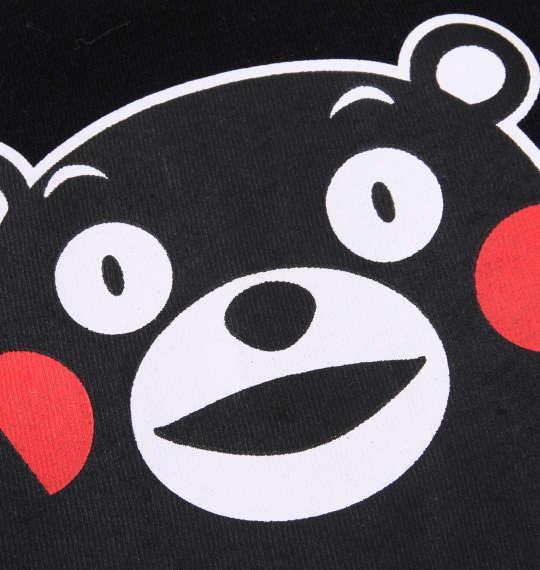 大きいサイズ メンズ くまモン 半袖 Tシャツ ブラック 1168-9290-1 3L 4L 5L 6L 8L