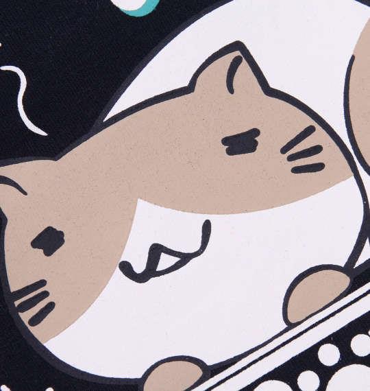大きいサイズ メンズ NECOBUCHI-SAN ミニ 裏毛 ハーフパンツ ネイビー 1154-9280-1 3L 4L 5L 6L